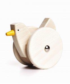 Holz-Spielzeug pickendes Wackel-Huhn, Bajo