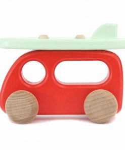 Spielzeugauto/Holzauto Campervan/Bulli Surfbrett, Bajo