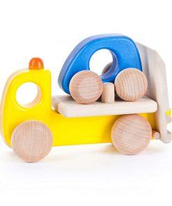 Spielzeugauto/Holzauto Einsatzfahrzeug Abschleppwagen-Wagen, Bajo