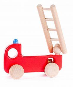 Spielzeugauto/Holzauto Einsatzfahrzeug Feuerwehr, Bajo