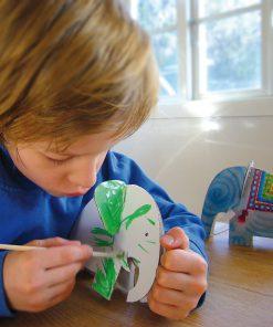 Papp Spielzeug Elefant zum Anmalen, Bibabox
