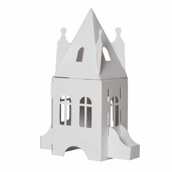 Papp Spielzeug Schloss zum Anmalen, Bibabox