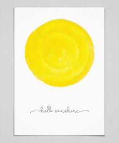 Poster Hello Sunshine, whatevershop