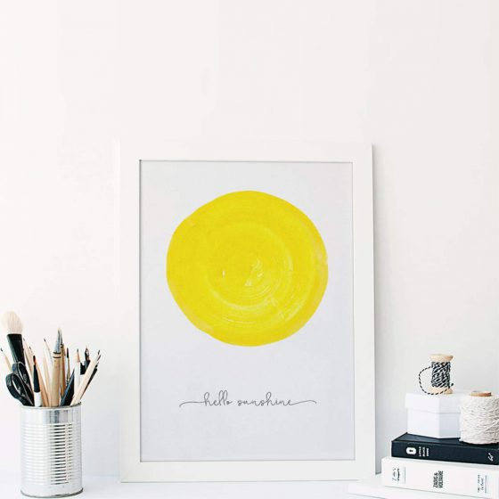 Poster Hello Sunshine, whatevershop