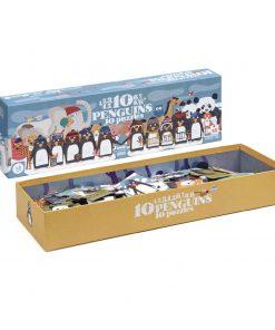 Puzzle 10 Penguins Zahlen-Puzzle, Londji